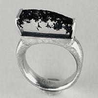 Ring – Silber, Bergkristall / Kundenmaterial