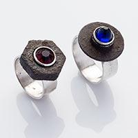 Ringe – Silber, Eisen, Glas