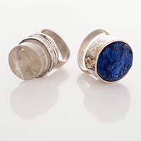 Ringe – Silber, Gold, Bergkristall, Lapislazuli